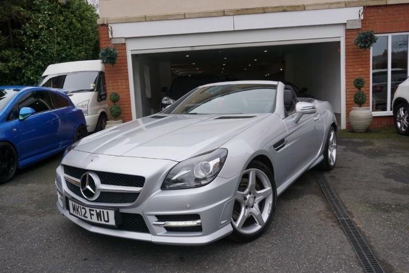 used Mercedes SLK SLK250 CDI BLUEEFFICIENCY AMG SPORT in wigan
