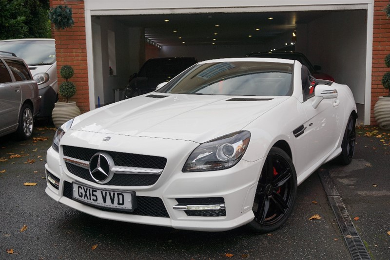 Car of the week - Mercedes SLK250 CDI BLUEEFFICIENCY AMG SPORT - Only £13,750