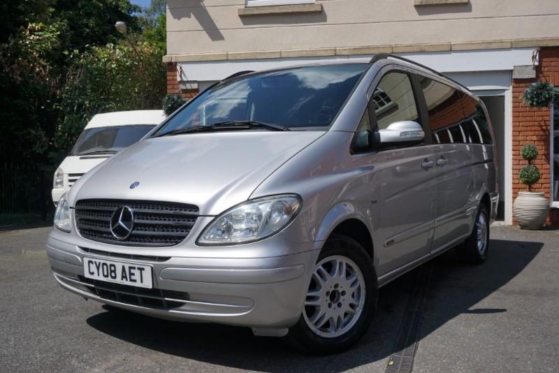 used Mercedes Viano CDI LONG AMBIENTE in wigan
