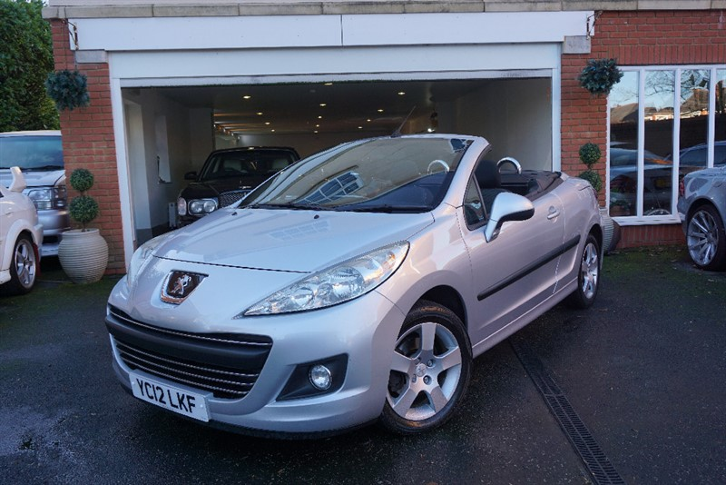 used Peugeot 207 CC ACTIVE in wigan