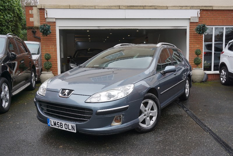 used Peugeot 407 HDI SW SE in wigan