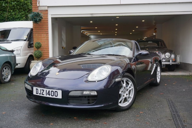 used Porsche Boxster 2.7 Convertible in wigan