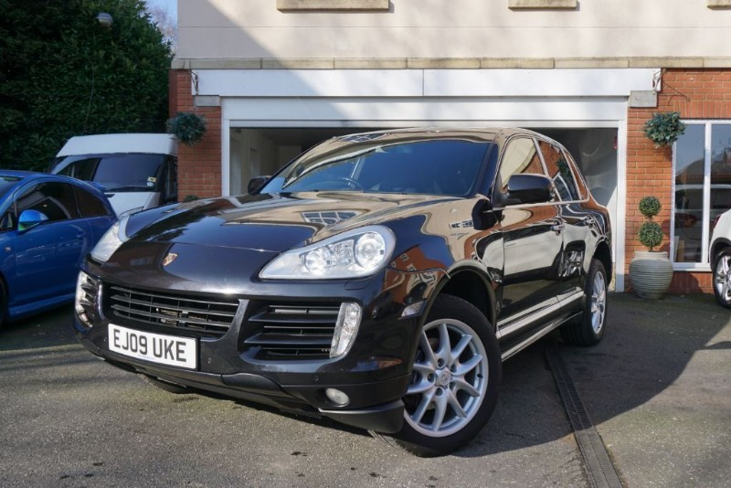 used Porsche Cayenne D TIPTRONIC S in wigan