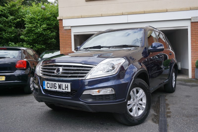 used Ssangyong Rexton SE in wigan