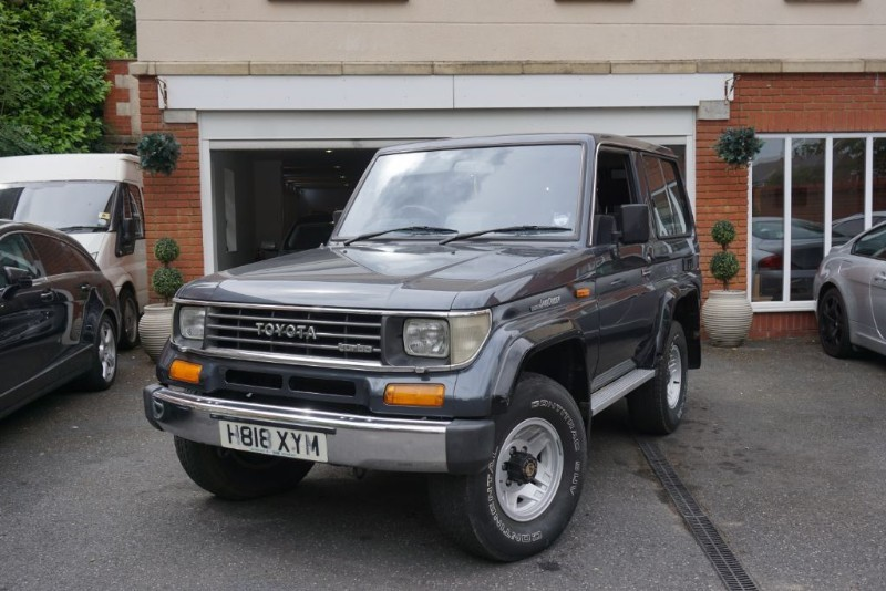 used Toyota Land Cruiser 2.4D in wigan