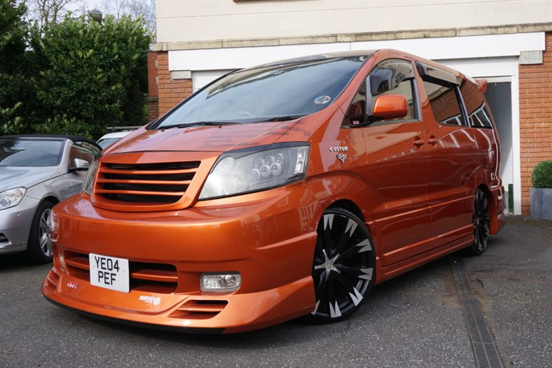 used Toyota  ALPHARD AIR RIDE CUSTOM in wigan