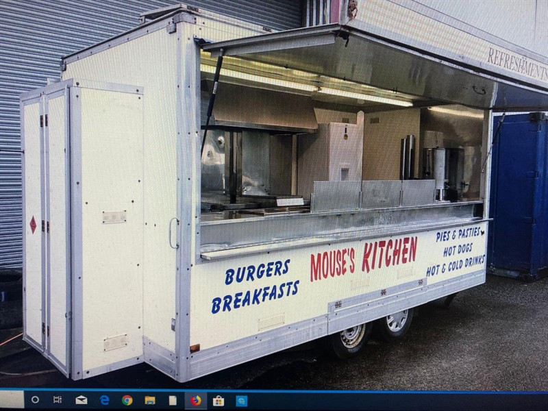 used Unlisted  CATERING TRAILER in wigan