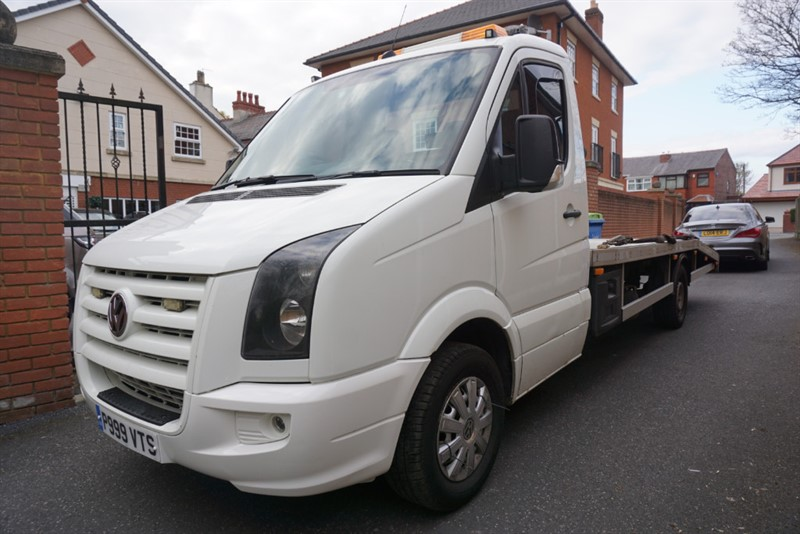 used VW Crafter CR35 LWB C/C 109 TRANSPORTER NO VAT! in wigan