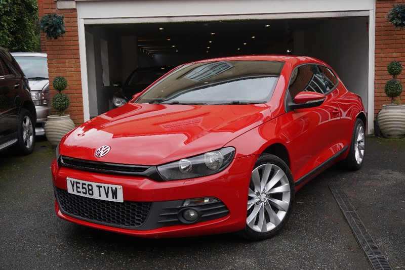 used VW Scirocco GT in wigan