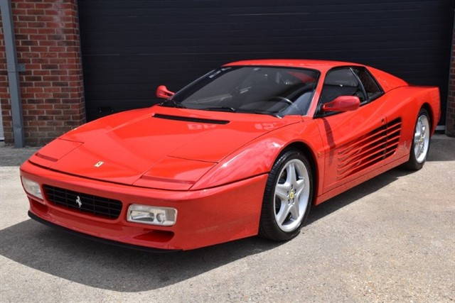 all Ferrari 512 TR LHD in ringwood-hampshire