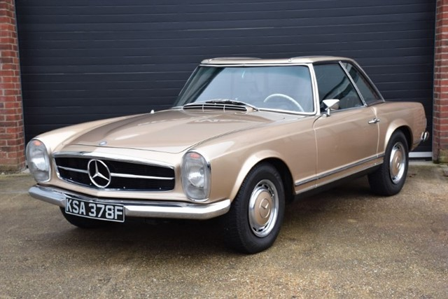 all Mercedes 280 SL Pagoda in ringwood-hampshire