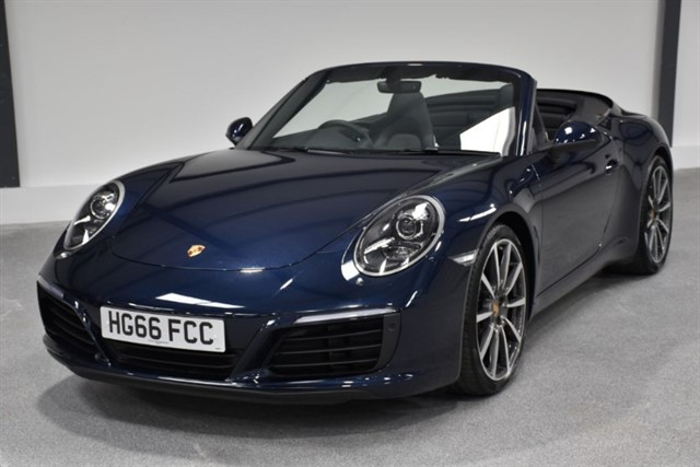 all Porsche 911 CARRERA PDK Sport Chrono in ringwood-hampshire