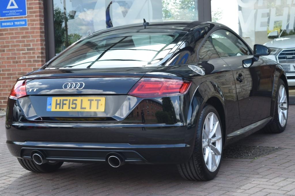 Used Brilliant Black Gloss Audi TT for Sale | York, Yorkshire