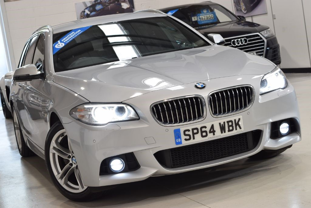 Used Glacier Silver Metallic BMW 520d for Sale   West Yorkshire