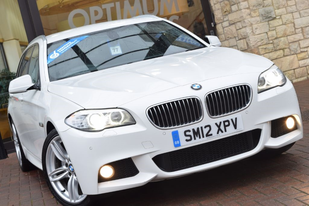 Used Alpine White Gloss Bmw 520d For Sale York Yorkshire