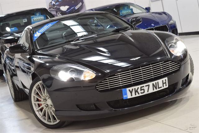used Aston Martin DB9 V12 in yorkshire