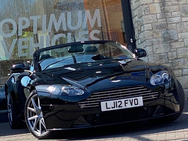 used Aston Martin Vantage S V8 ROADSTER in york-yorkshire