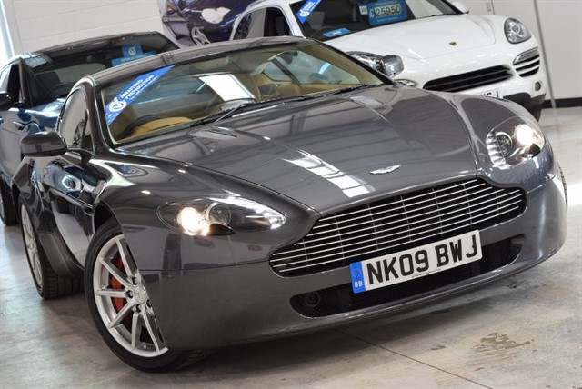 used Aston Martin Vantage V8 in yorkshire