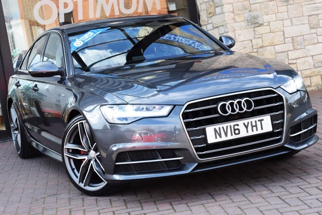 used Audi A6 Saloon TDI ULTRA S LINE in york-yorkshire