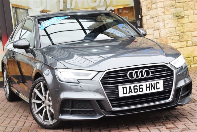 used Audi A3 TFSI S LINE in york-yorkshire
