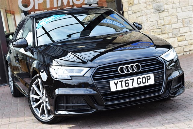 used Audi A3 TFSI S LINE BLACK EDITION in york-yorkshire