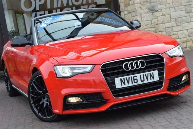 used Audi A5 TDI S LINE SPECIAL EDITION PLUS in york-yorkshire