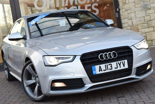 used Audi A5 TDI S LINE BLACK EDITION in york-yorkshire