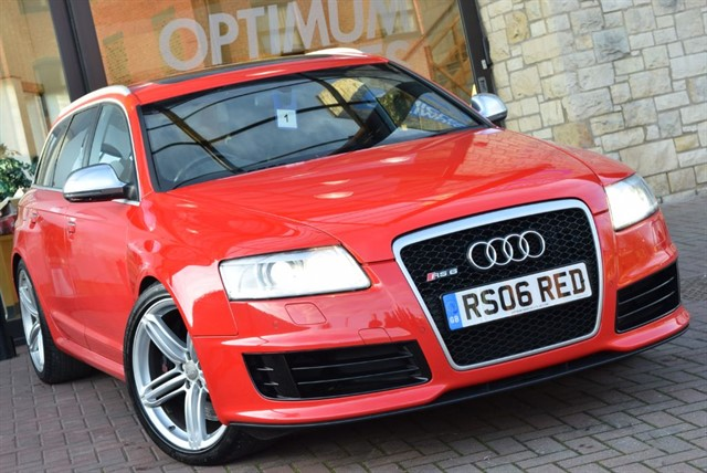 used Audi RS6 Avant RS6 AVANT QUATTRO in york-yorkshire