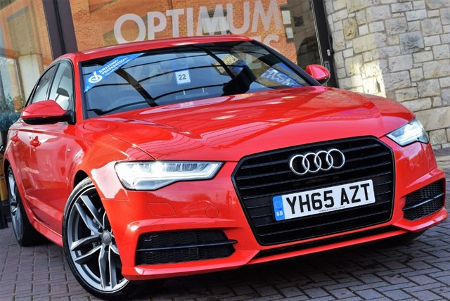 used Audi A6 TDI ULTRA S LINE BLACK EDITION in york-yorkshire
