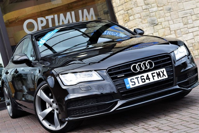 used Audi A7 TDI QUATTRO S LINE BLACK EDITION in york-yorkshire