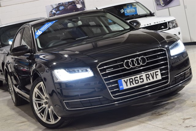 used Audi A8 TDI QUATTRO SPORT EXECUTIVE in york-yorkshire