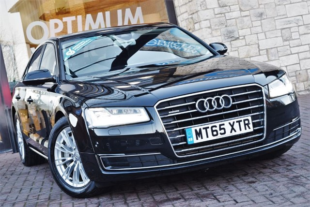 used Audi A8 TDI QUATTRO SE EXECUTIVE in york-yorkshire