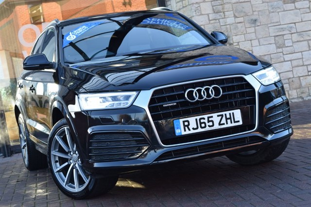 used Audi Q3 TDI QUATTRO S LINE PLUS in york-yorkshire