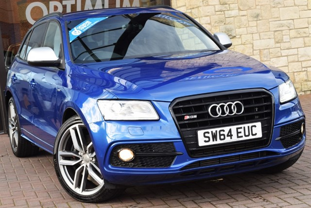 used Audi SQ5 TDI QUATTRO in york-yorkshire
