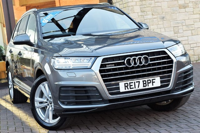 used Audi Q7 TDI QUATTRO S LINE in york-yorkshire