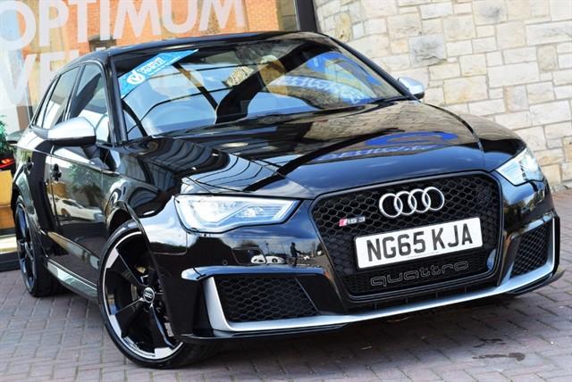 used Audi RS3 SPORTBACK QUATTRO NAV in york-yorkshire