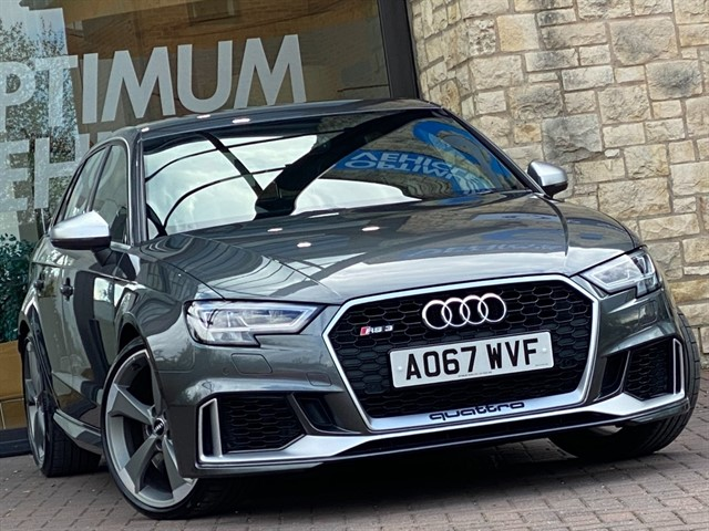 used Audi RS3 TFSI QUATTRO in york-yorkshire