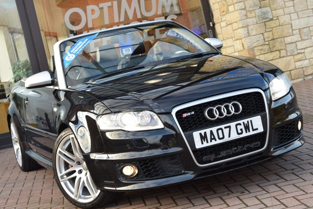 used Audi RS4 Cabriolet RS4 QUATTRO in york-yorkshire