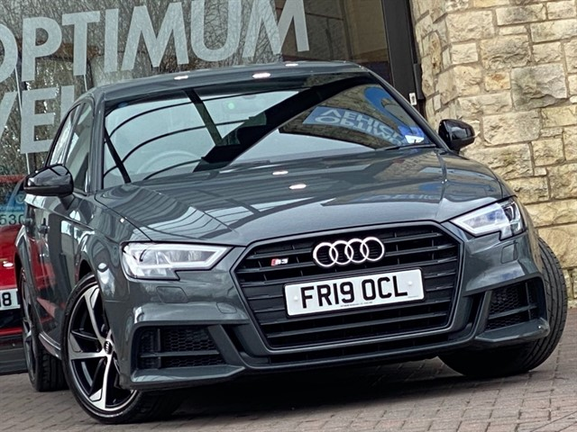 used Audi S3 SPORTBACK TFSI QUATTRO BLACK EDITION in york-yorkshire