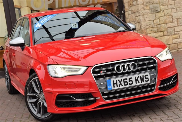 used Audi S3 S3 SPORTBACK QUATTRO in york-yorkshire