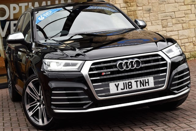 used Audi SQ5 TFSI Tiptronic quattro (s/s) in york-yorkshire