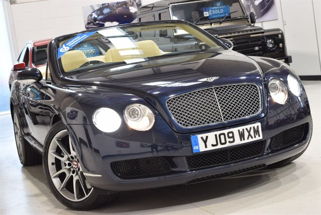 used Bentley Continental GTC MULLINER in yorkshire