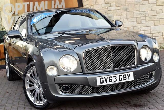 used Bentley Mulsanne V8 MDS in york-yorkshire