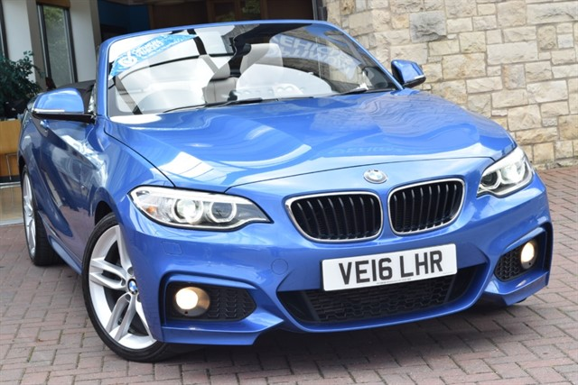 used BMW 220d M SPORT in york-yorkshire