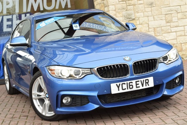 used BMW 420d M SPORT GRAN COUPE in york-yorkshire