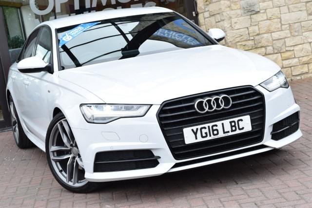 used Audi A6 2.0 TDI ultra Black Edition in york-yorkshire