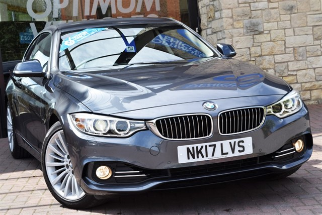 used BMW 430i LUXURY in york-yorkshire