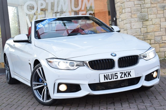 used BMW 435d XDRIVE M SPORT in york-yorkshire