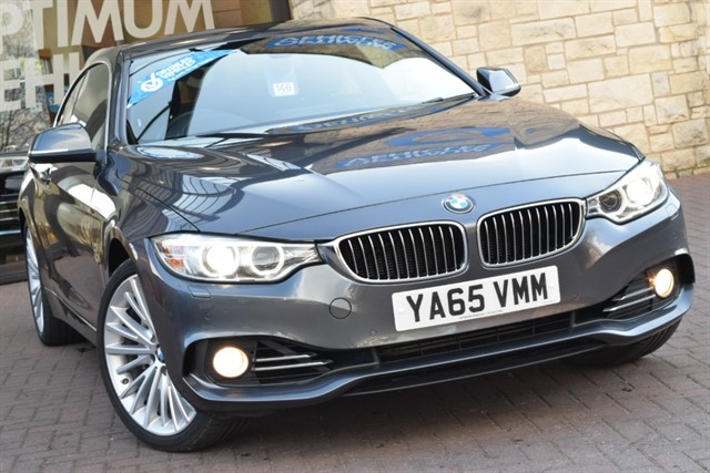 used BMW 435d XDRIVE LUXURY in york-yorkshire