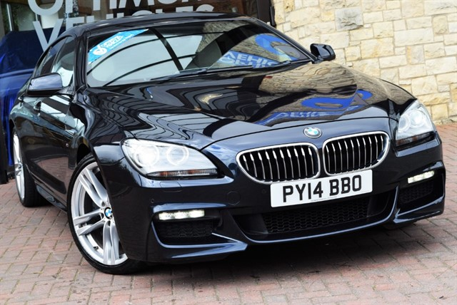 used BMW 640d M SPORT GRAN COUPE in york-yorkshire